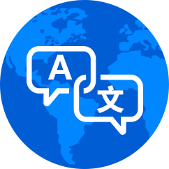 Globalization | Support multiple language shopping cart, provide the first step of international market.