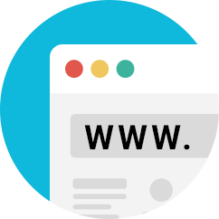 Domains & hosting | Basic domain is including free, and we also provide the custom domain for a unique experience